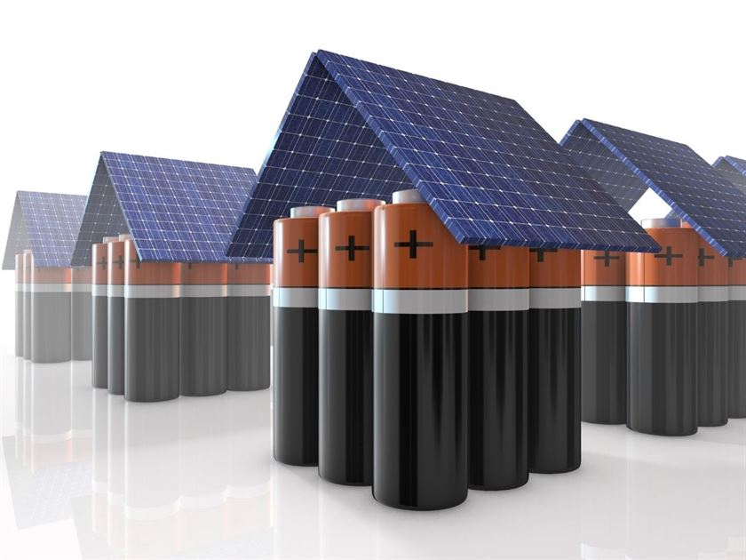 solar panel battery storage uk